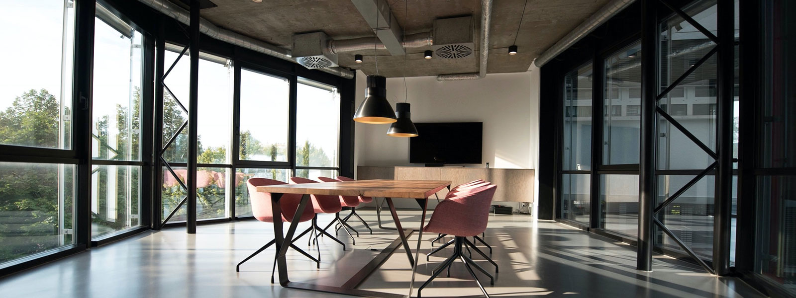 Oficinas inteligentes y co-working spaces.